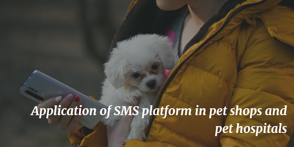 Application of SMS platform in pet shops and pet hospitals