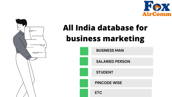 All India database for business marketing
