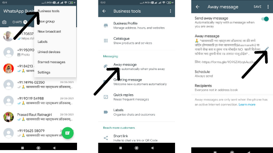 features of whatsapp business