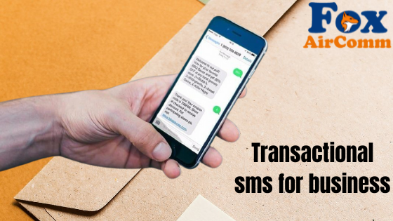Transactional sms service in india