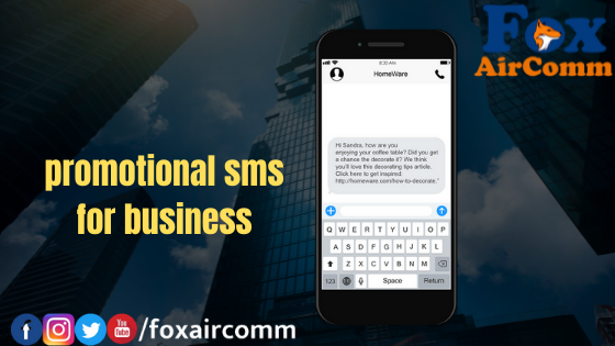 promotional sms for business